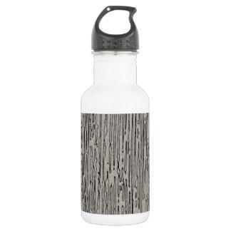 Modernes Metallstatischer Artentwurf im silbernen Trinkflaschen