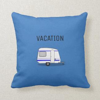 Modernes Reiseferienwohnwagen-Abenteuer-Camping Kissen