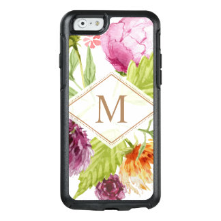 Modernes schickes Aquarell-Girly mit OtterBox iPhone 6/6s Hülle