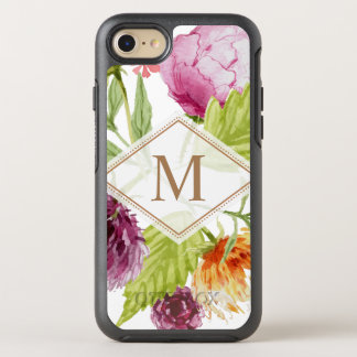 Modernes schickes Aquarell-Girly mit OtterBox Symmetry iPhone 7 Hülle