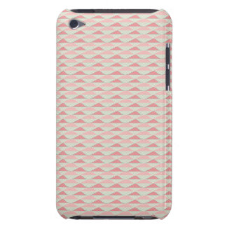 Modernes Stammes- geometrisches Zickzack rosa Ande iPod Touch Case-Mate Hülle