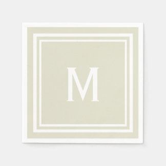 Modernes stilvolles papierservietten