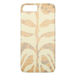 Modernes verblaßtes Zebra-Streifen-Muster iPhone 7 Plus Hülle