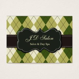modische Salon businesscards Jumbo-Visitenkarten