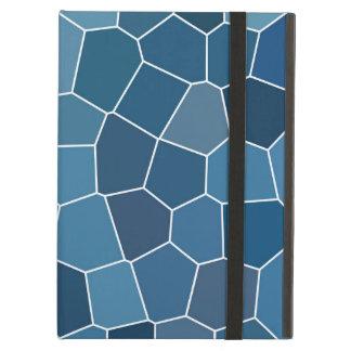 Modisches stilvolles blaues Muster