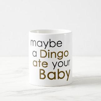 Möglicherweise aß ein Dingo Ihr Baby Tasse