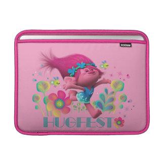 Mohnblume der Schleppangel-| - Hugfest Sleeve Fürs MacBook Air