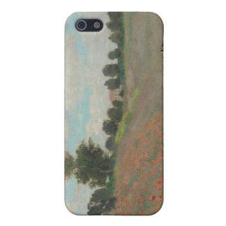 Mohnblumen in Argenteuil (1873) iPhone 5 Hüllen