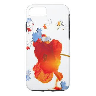 Mohnblumen-Puzzlespiel iPhone 8/7 Hülle
