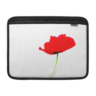 MOHNBLUMEN-SAMMLUNG 1 Macbook Luft MacBook Sleeve