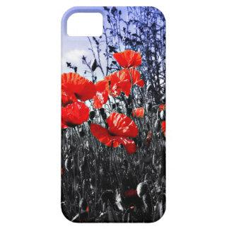 Mohnblumenblumenmohnblumen-Blume iPhone 5 Schutzhüllen