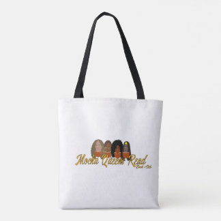 Mokka-Königinnen lasen Buch-Tasche/Tasche