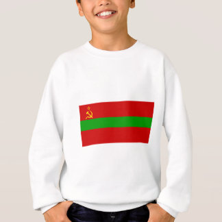 Moldau-SSR Flagge Sweatshirt