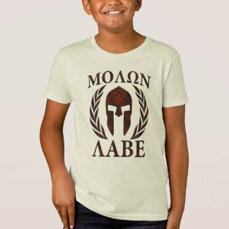 Molon Labe spartanische T-Shirt