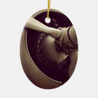 Momente des Powers Ovales Keramik Ornament