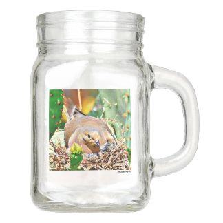 Momma Tauben-Weckglas mit Griff Einmachglas