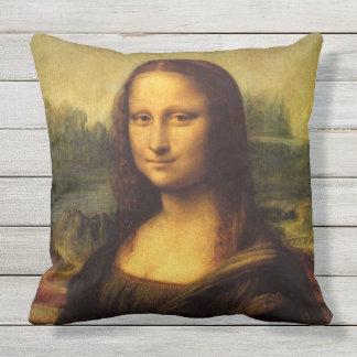 Mona Lisa durch Leonardo da Vinci Kissen