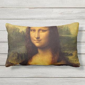 Mona Lisa durch Leonardo da Vinci Kissen Für Draußen