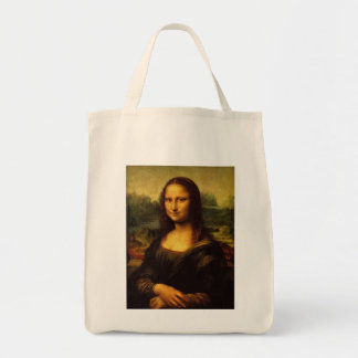 Mona Lisa durch Leonardo da Vinci Tragetasche
