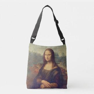 Mona Lisa durch Leonardo da Vinci Tragetaschen Mit Langen Trägern