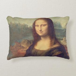 Mona Lisa durch Leonardo da Vinci Zierkissen
