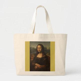 Mona Lisa… Leonardo da Vinci ~ 1503-1517 Jumbo Stoffbeutel