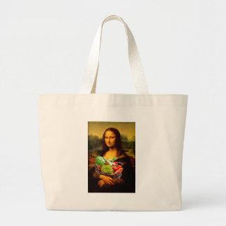 Mona Lisa Liebe-Gemüse Jumbo Stoffbeutel