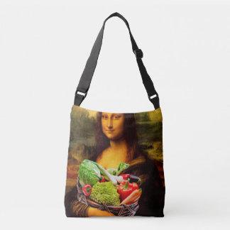 Mona Lisa Liebe-Gemüse Tragetaschen Mit Langen Trägern