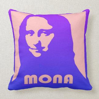 Mona Lisa Pop-Kunst-Entwurf Kissen