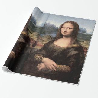 Mona Lisa Porträt/Malerei Geschenkpapier