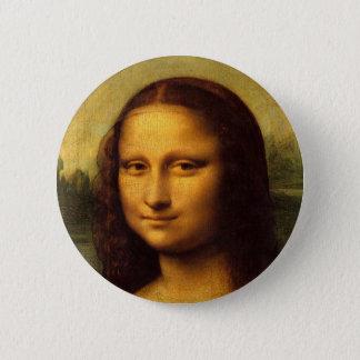Mona Lisa Runder Button 5,7 Cm