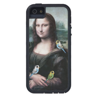 Mona Lisa u. Budgies iPhone 5 Schutzhülle