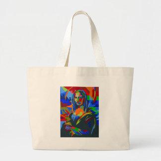 Mona Lisa Wpap Jumbo Stoffbeutel