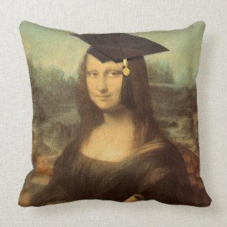 Mona Lisas Abschluss-Tag Kissen