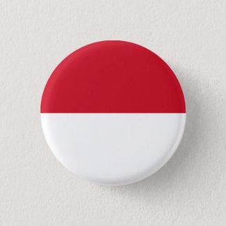 Monaco-Flaggen-Knopf Runder Button 2,5 Cm