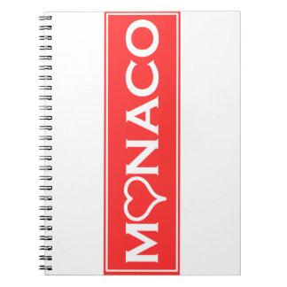 Monaco Notizblock