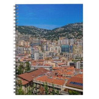 Monaco-Skyline Notizblock