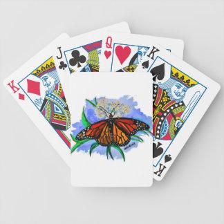 Monarchfalter Bicycle Spielkarten