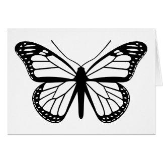 Monarchfalter Grußkarte