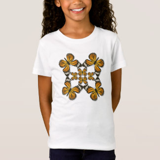 Monarchfalter-Rad T-Shirt