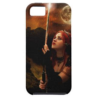 Mond-Krieger iPhone 5 Etuis