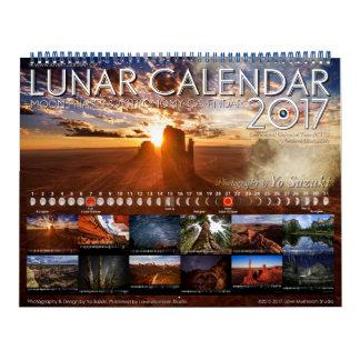 Mond-Phasen-Astronomie-Kalender des Wandkalender