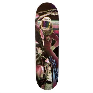 Mond-Reiter - Retro Skateboard Personalisierte Skateboarddecks
