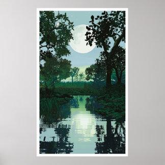 Mond und Wasser 2 Poster