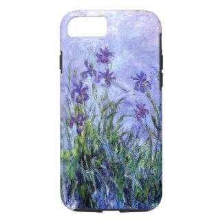 Monet Flieder Irises iPhone X/8/7 starken Kasten iPhone 8/7 Hülle