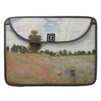 Monet Mohnblumen-Feld Sleeve Für MacBooks