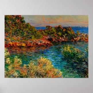 Monet - nahe Monte Carlo Poster