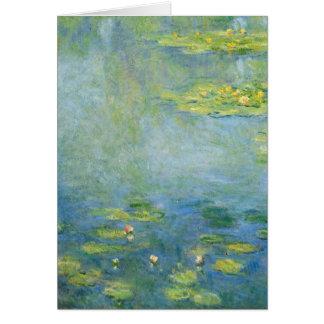 Monets Wasserlilien Karte