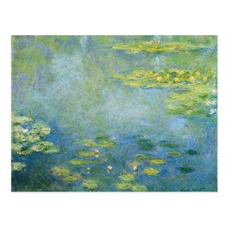 Monets Wasserlilien Postkarte