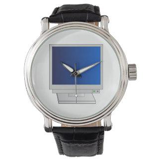 Monitor Armbanduhr